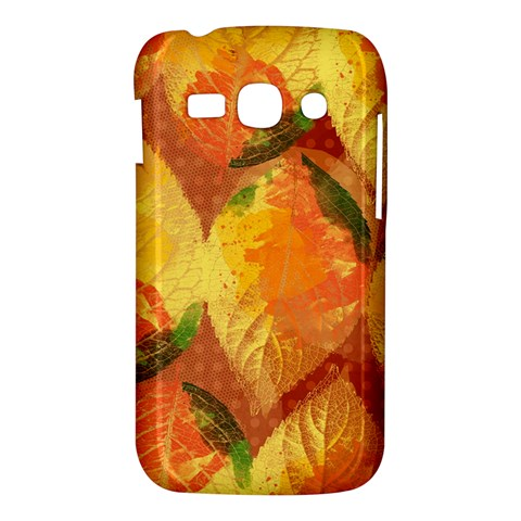 Fall Colors Leaves Pattern Samsung Galaxy Ace 3 S7272 Hardshell Case