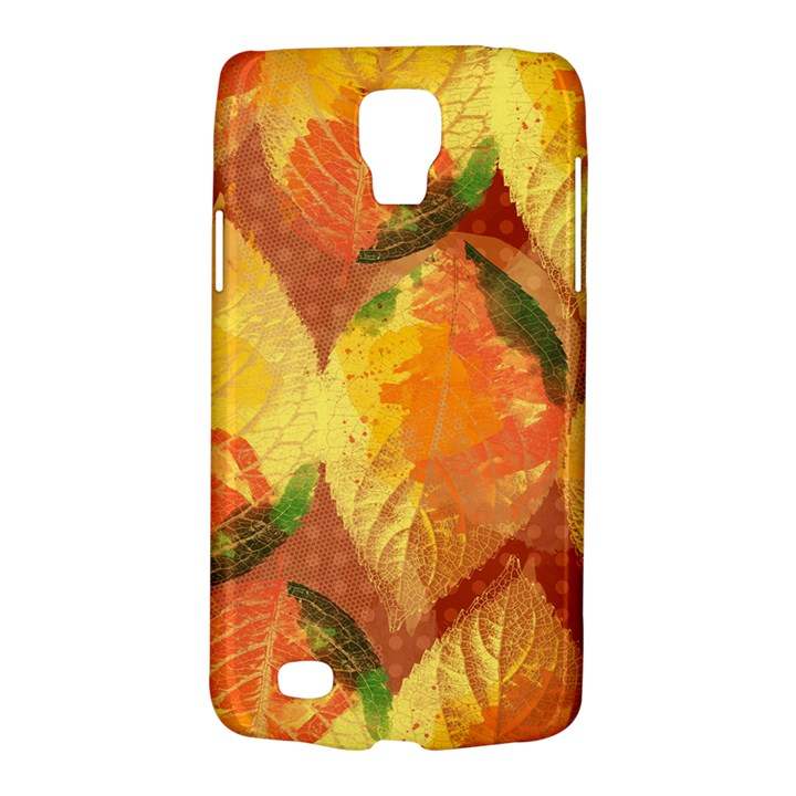 Fall Colors Leaves Pattern Galaxy S4 Active