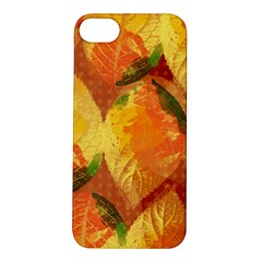 Fall Colors Leaves Pattern Apple iPhone 5S/ SE Hardshell Case