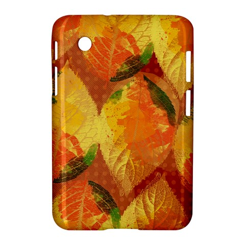 Fall Colors Leaves Pattern Samsung Galaxy Tab 2 (7 ) P3100 Hardshell Case