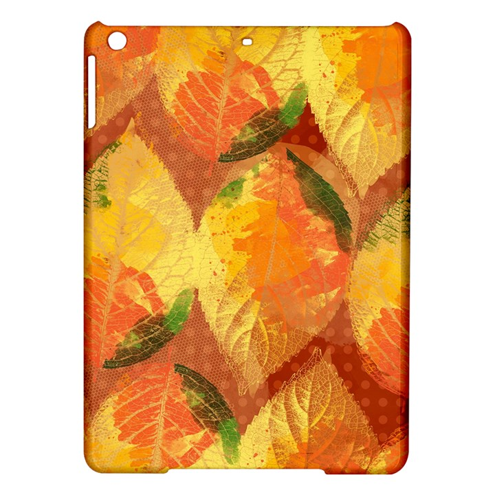 Fall Colors Leaves Pattern iPad Air Hardshell Cases