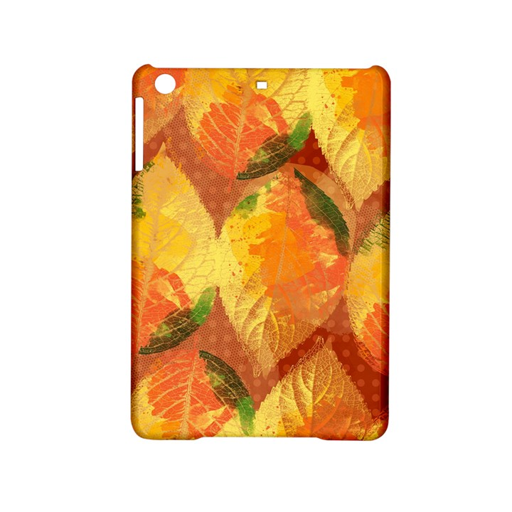 Fall Colors Leaves Pattern iPad Mini 2 Hardshell Cases