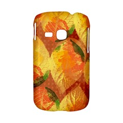 Fall Colors Leaves Pattern Samsung Galaxy S6310 Hardshell Case