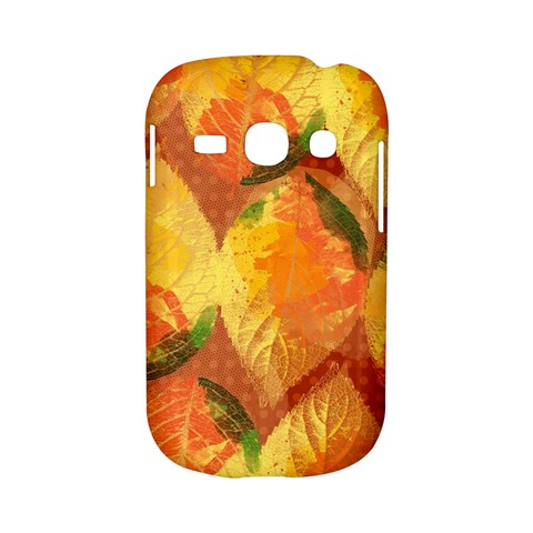 Fall Colors Leaves Pattern Samsung Galaxy S6810 Hardshell Case