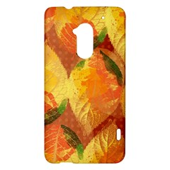 Fall Colors Leaves Pattern HTC One Max (T6) Hardshell Case