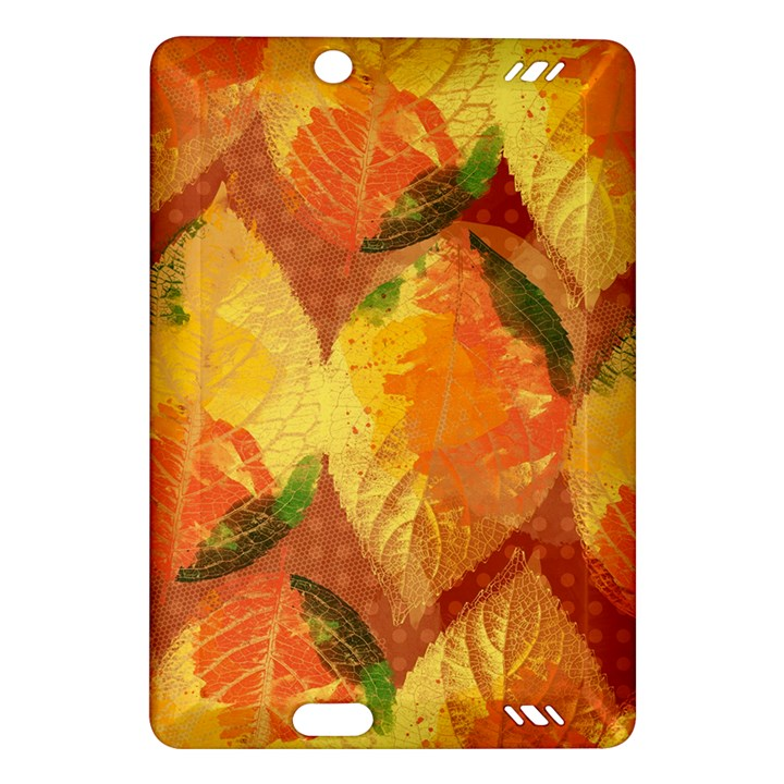 Fall Colors Leaves Pattern Amazon Kindle Fire HD (2013) Hardshell Case