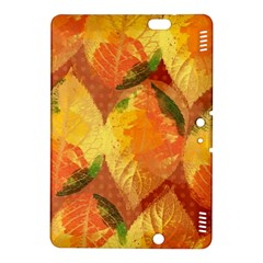 Fall Colors Leaves Pattern Kindle Fire Hdx 8 9  Hardshell Case