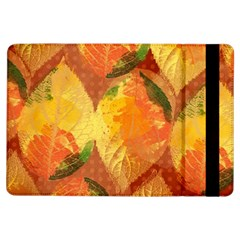 Fall Colors Leaves Pattern iPad Air Flip