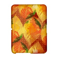 Fall Colors Leaves Pattern Amazon Kindle Fire (2012) Hardshell Case