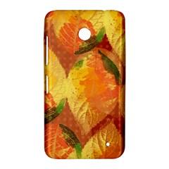 Fall Colors Leaves Pattern Nokia Lumia 630