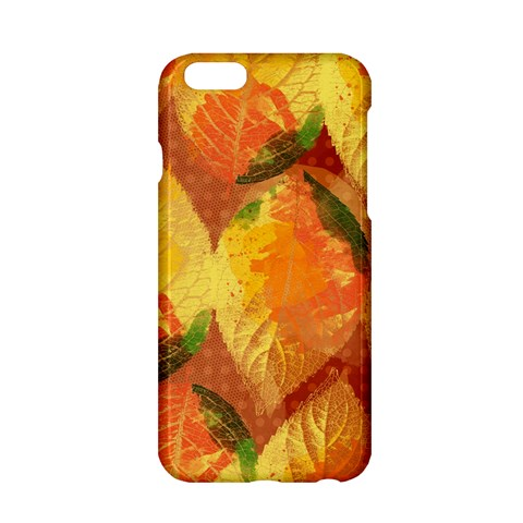 Fall Colors Leaves Pattern Apple iPhone 6/6S Hardshell Case