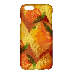 Fall Colors Leaves Pattern Apple iPhone 6 Plus/6S Plus Hardshell Case