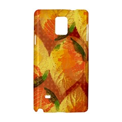 Fall Colors Leaves Pattern Samsung Galaxy Note 4 Hardshell Case