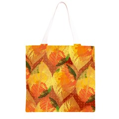 Fall Colors Leaves Pattern Grocery Light Tote Bag