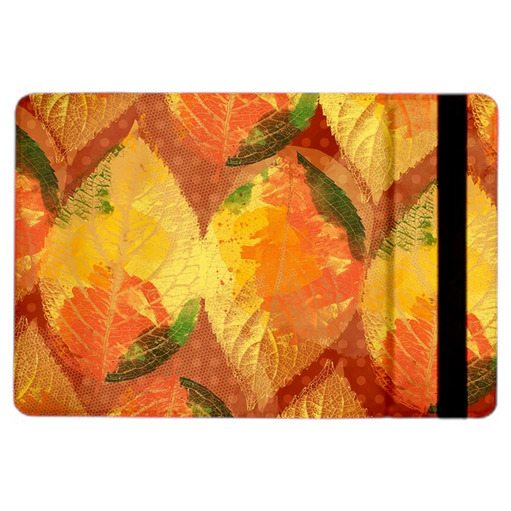 Fall Colors Leaves Pattern iPad Air 2 Flip