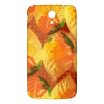 Fall Colors Leaves Pattern Samsung Galaxy Mega I9200 Hardshell Back Case Front