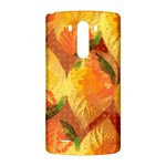 Fall Colors Leaves Pattern LG G3 Back Case Front