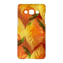 Fall Colors Leaves Pattern Samsung Galaxy A5 Hardshell Case