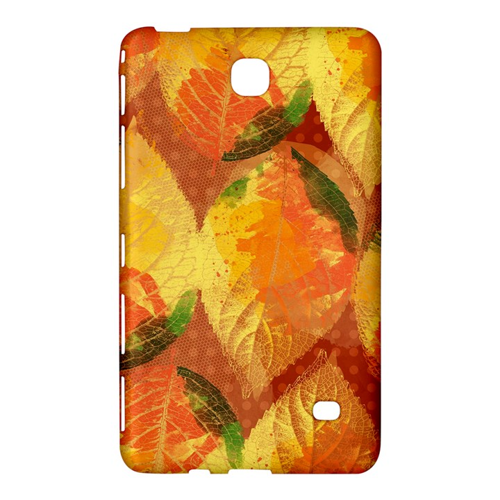 Fall Colors Leaves Pattern Samsung Galaxy Tab 4 (7 ) Hardshell Case