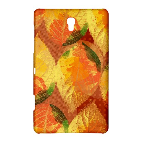 Fall Colors Leaves Pattern Samsung Galaxy Tab S (8.4 ) Hardshell Case