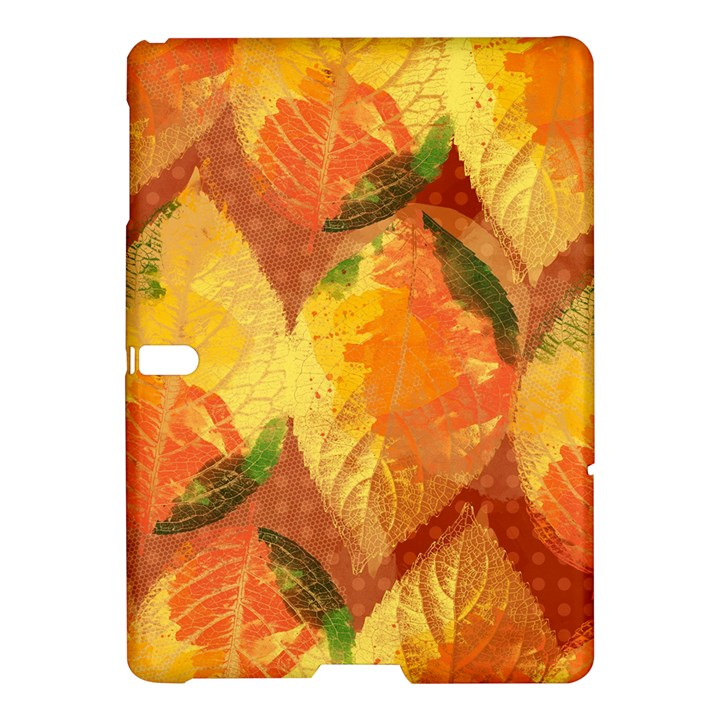 Fall Colors Leaves Pattern Samsung Galaxy Tab S (10.5 ) Hardshell Case