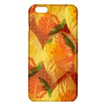 Fall Colors Leaves Pattern iPhone 6 Plus/6S Plus TPU Case Front