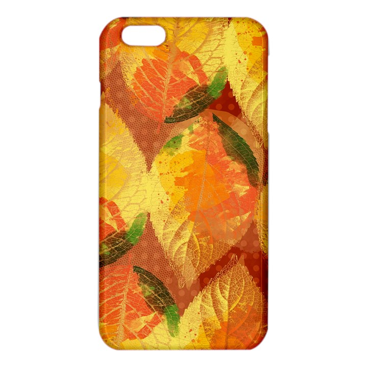 Fall Colors Leaves Pattern iPhone 6 Plus/6S Plus TPU Case