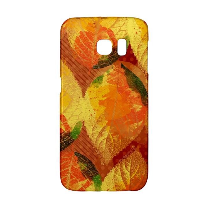 Fall Colors Leaves Pattern Galaxy S6 Edge