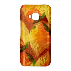 Fall Colors Leaves Pattern HTC One M9 Hardshell Case