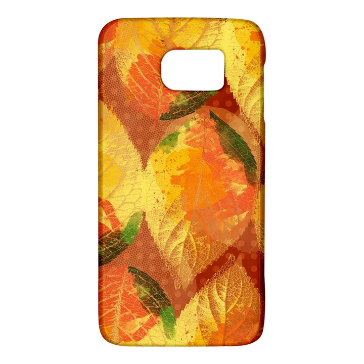 Fall Colors Leaves Pattern Galaxy S6