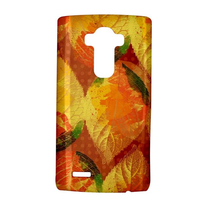 Fall Colors Leaves Pattern LG G4 Hardshell Case