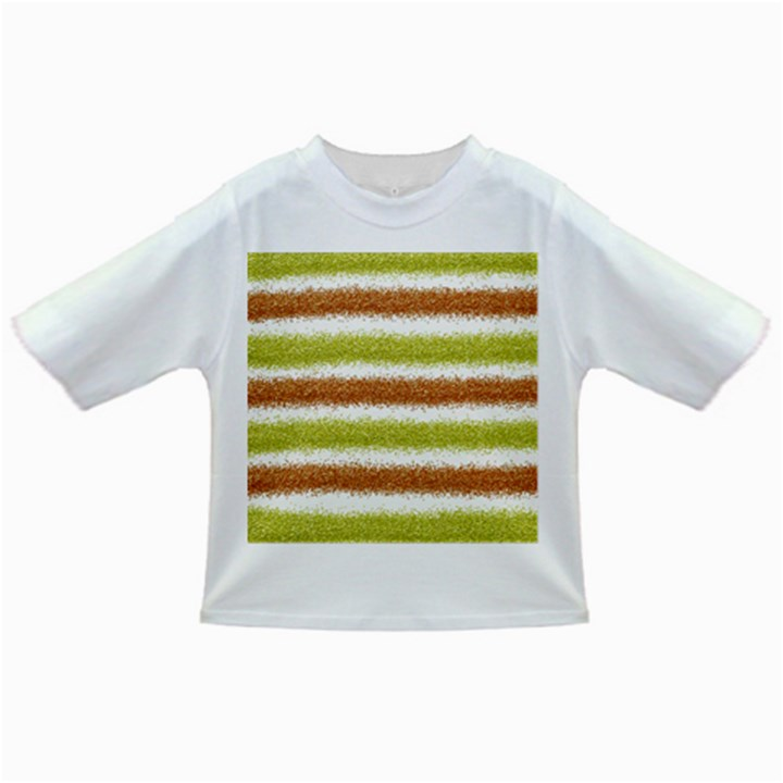 Metallic Gold Glitter Stripes Infant/Toddler T-Shirts