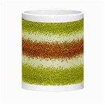 Metallic Gold Glitter Stripes Night Luminous Mugs Center