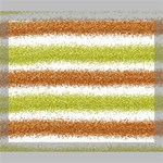 Metallic Gold Glitter Stripes Deluxe Canvas 24  x 20   24  x 20  x 1.5  Stretched Canvas