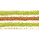 Metallic Gold Glitter Stripes SORRY 3D Greeting Card (8x4) Front