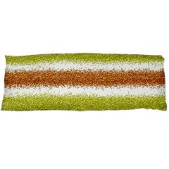 Metallic Gold Glitter Stripes Body Pillow Case Dakimakura (Two Sides)