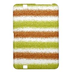 Metallic Gold Glitter Stripes Kindle Fire HD 8.9