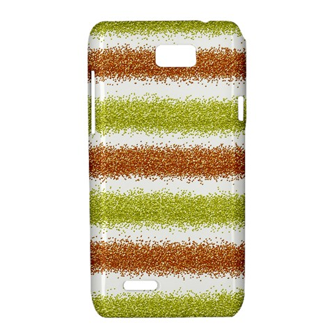 Metallic Gold Glitter Stripes Motorola XT788