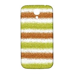 Metallic Gold Glitter Stripes Samsung Galaxy S4 I9500/I9505  Hardshell Back Case