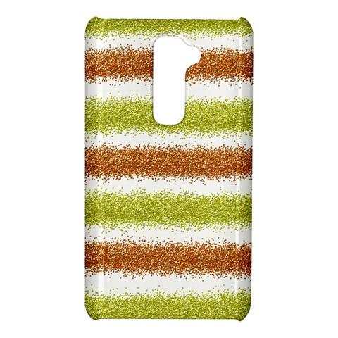 Metallic Gold Glitter Stripes LG G2
