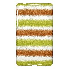 Metallic Gold Glitter Stripes Nexus 7 (2013)
