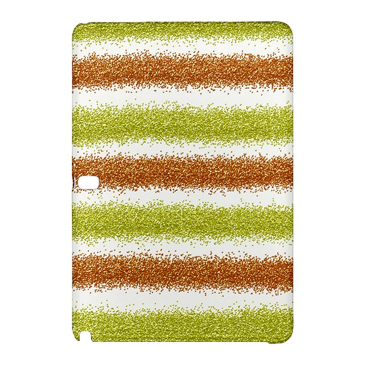 Metallic Gold Glitter Stripes Samsung Galaxy Tab Pro 12.2 Hardshell Case