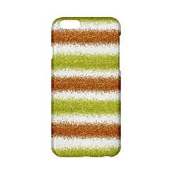 Metallic Gold Glitter Stripes Apple iPhone 6/6S Hardshell Case