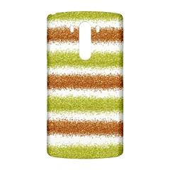 Metallic Gold Glitter Stripes LG G3 Back Case