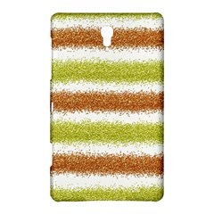 Metallic Gold Glitter Stripes Samsung Galaxy Tab S (8.4 ) Hardshell Case
