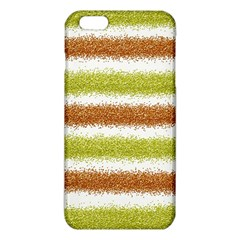 Metallic Gold Glitter Stripes iPhone 6 Plus/6S Plus TPU Case
