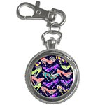 Colorful High Heels Pattern Key Chain Watches Front