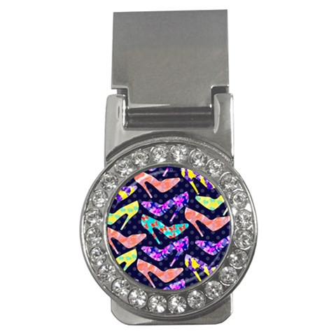 Colorful High Heels Pattern Money Clips (CZ)