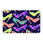 Colorful High Heels Pattern Magnet (Rectangular) Front