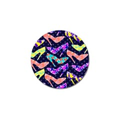 Colorful High Heels Pattern Golf Ball Marker (4 pack)